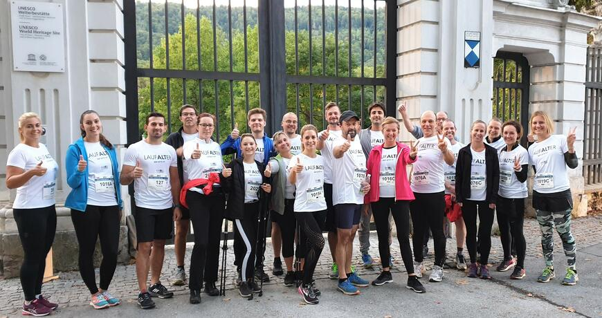 Gruppenfoto Social Business Night Run