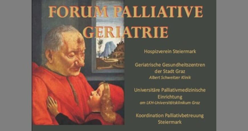 Plakat Forum Palliative Geriatrie